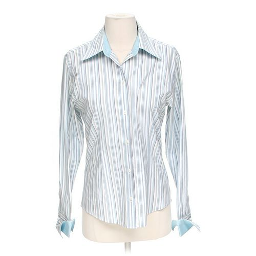 Casual Corner Casual Button-up Shirt in size S at up to 95% Off - Swap.com