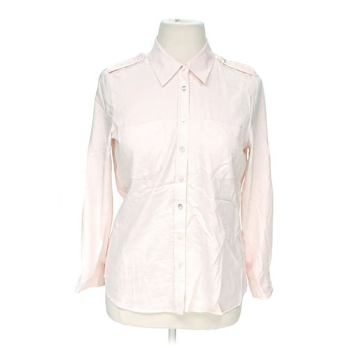 Chico's Casual Button-Up Shirt in size 12 at up to 95% Off - Swap.com