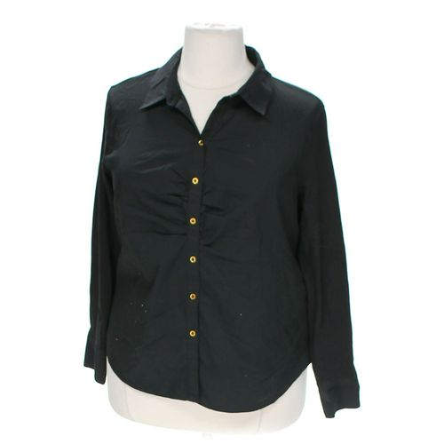 Dana Buchman Casual Button-up Shirt in size 2X at up to 95% Off - Swap.com