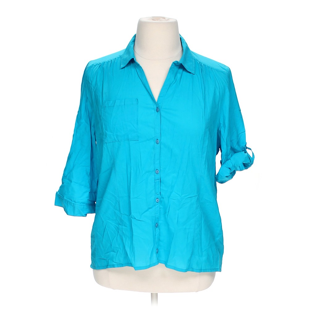 Hannah Casual Button Up Shirt Online Consignment