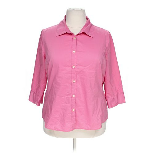Merona Casual Button-up Shirt in size 20 at up to 95% Off - Swap.com