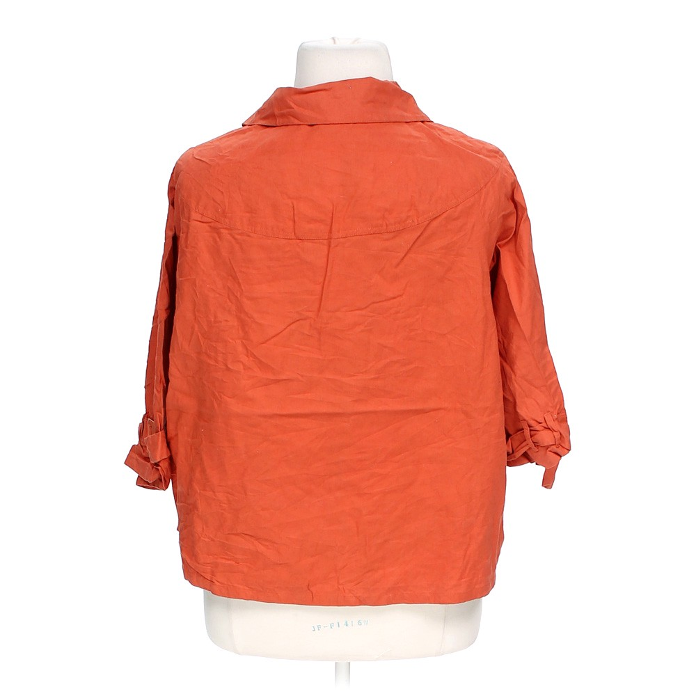 Mix Nouveau Casual Button Up Shirt In Size 3x At Up To 95