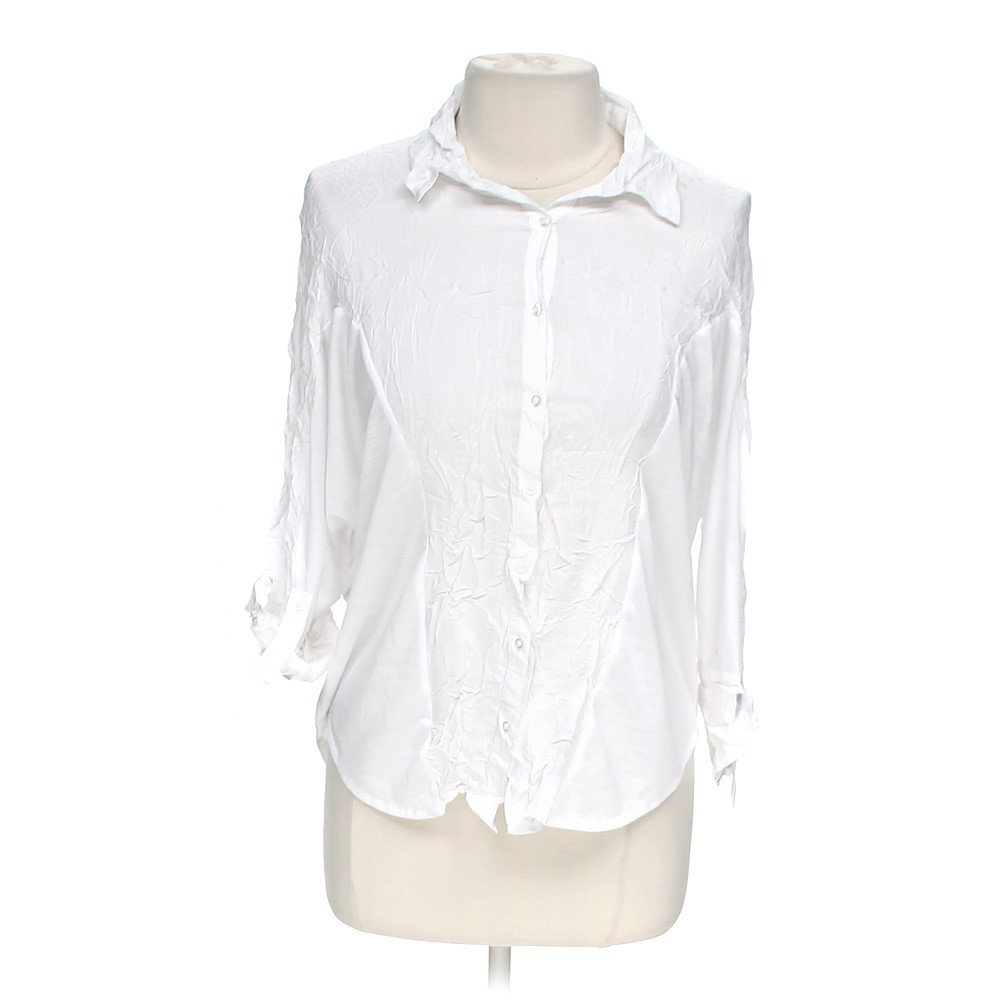 Myth Casual Button Up Shirt Online Consignment