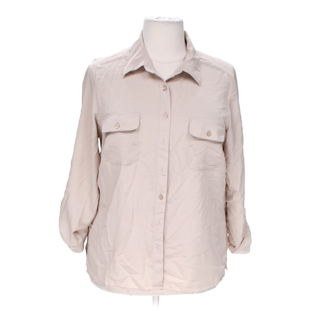 Notations Casual Button Up Shirt Online Consignment