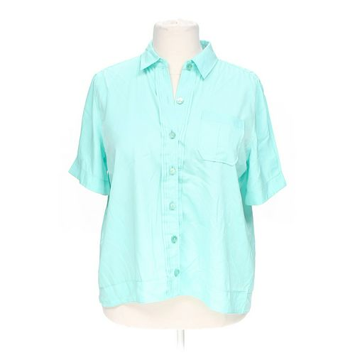Roaman's Casual Button-up Shirt in size 16 at up to 95% Off - Swap.com