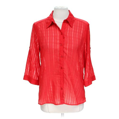 Sag Harbor Casual Button-up Shirt in size L at up to 95% Off - Swap.com