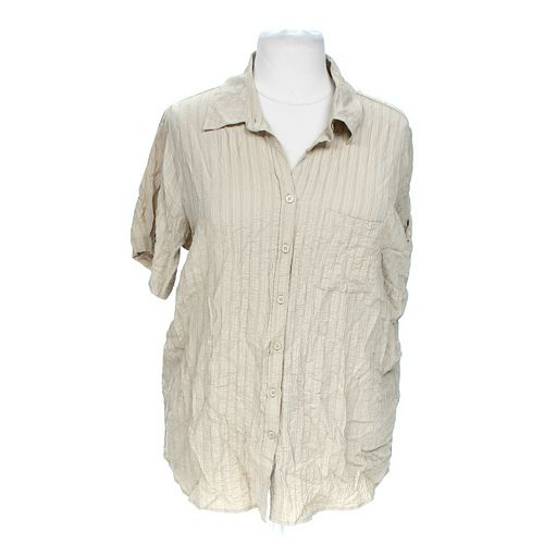 White Sag Casual Button-up Shirt in size 18 at up to 95% Off - Swap.com
