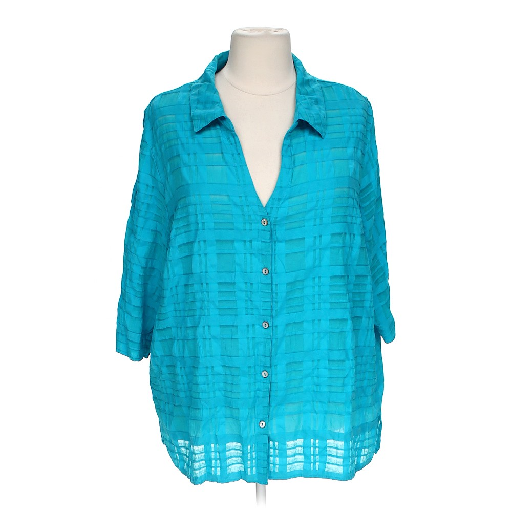White Stag Casual Button Up Shirt Online Consignment