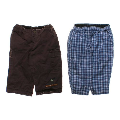 Snoopy Casual & Plaid Pants Set in size 18 mo at up to 95% Off - Swap.com