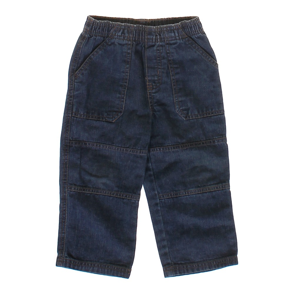 Update your little man's wardrobe with these Faded Glory Boys' Pull-On Pants. Functional and super-easy to wear, they feature multiple pockets and come with an elastic waistband and drawstring for a snug but comfortable fit/5(14).