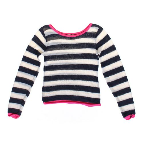 Delia's Casual Striped Sweater in size JR 3 at up to 95% Off - Swap.com