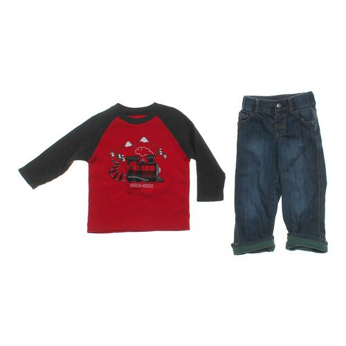 OshKosh B'gosh Casual Sweater & Jeans Set in size 3/3T at up to 95% Off - Swap.com