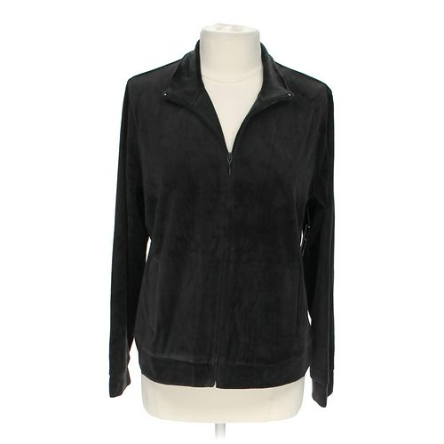 Kim Rogers Casual Velour Jacket in size L at up to 95% Off - Swap.com