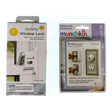 Casual Window Lock & Safety Lock Plug Covers for Sale on Swap.com