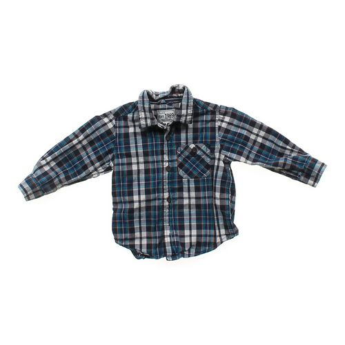 The Children's Place Checkered Button-up in size 18 mo at up to 95% Off - Swap.com