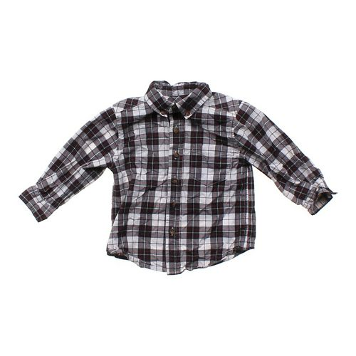 The Children's Place Checkered Button-up  in size 24 mo at up to 95% Off - Swap.com