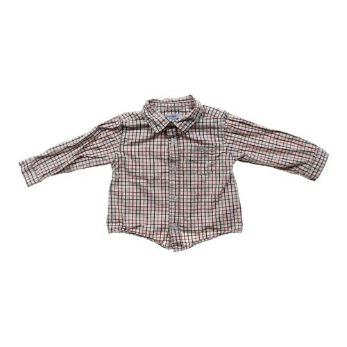 Greendog Checkered Button-up Shirt in size 24 mo at up to 95% Off - Swap.com