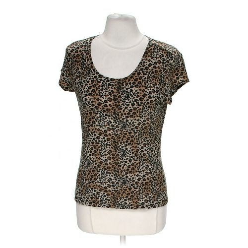 Susan Lawerence Cheetah Print Shirt in size M at up to 95% Off - Swap.com