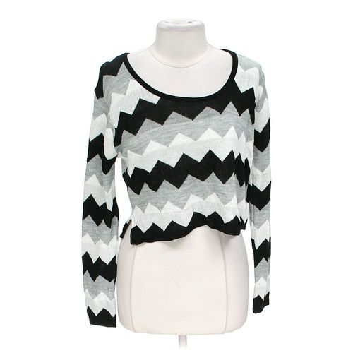 Say What? Chevron Sweater in size JR 11 at up to 95% Off - Swap.com