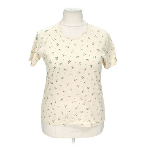 Chic Eyelet Shirt in size XL at up to 95% Off - Swap.com