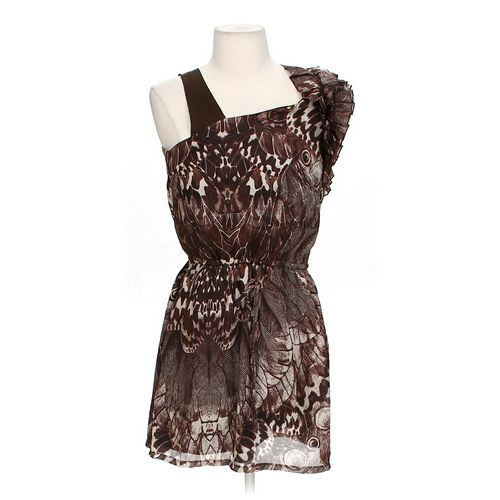 Ya Los Angeles Chic Ruffled Dress in size S at up to 95% Off - Swap.com