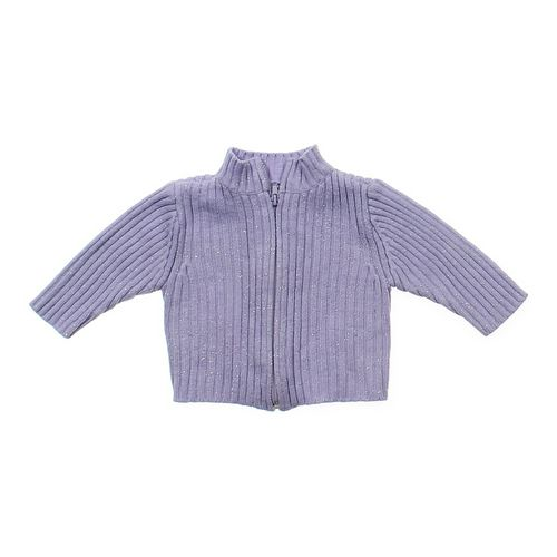 Faded Glory Chic Zip-up Sweater in size 12 mo at up to 95% Off - Swap.com
