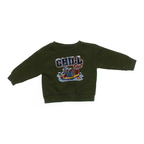 "Athletic Works ""Chill Out"" Walrus Sweatshirt in size 12 mo at up to 95% Off - Swap.com"