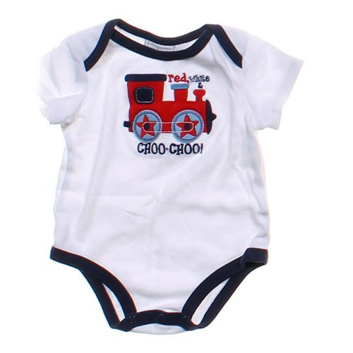 """First Impressions """"Choo-Choo!""""Bodysuit in size 6 mo at up to 95% Off - Swap.com"""
