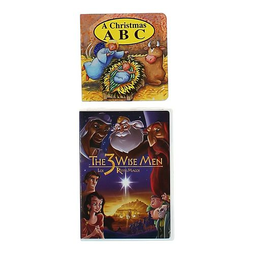 Christmas Board Book and Wise Men DVD at up to 95% Off - Swap.com