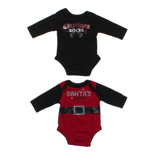 Baby Glam Christmas Bodysuit Set in size NB at up to 95% Off - Swap.com