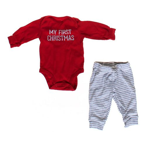 Carter's Christmas Outfit in size 3 mo at up to 95% Off - Swap.com