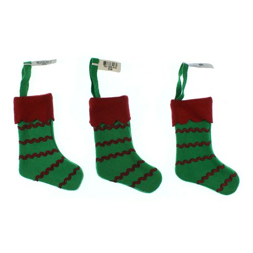 Martha Stewart Collection Christmas Stocking Set at up to 95% Off - Swap.com