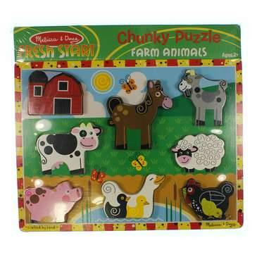 Chunky Puzzle Farm Animals Puzzle for Sale on Swap.com