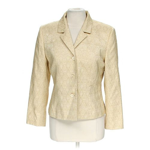 Le Suit Classic Blazer in size 10 at up to 95% Off - Swap.com