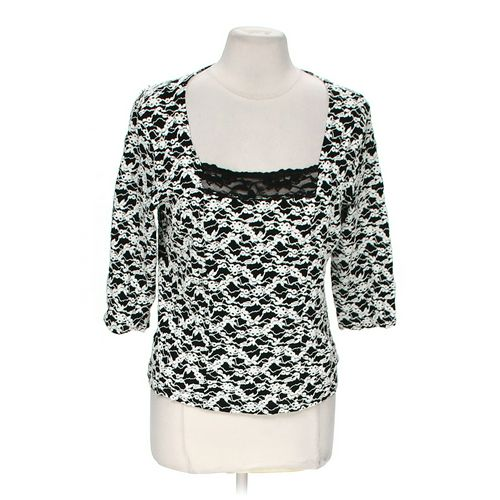 Nicole by Nicole Miller Classic Blouse in size M at up to 95% Off - Swap.com