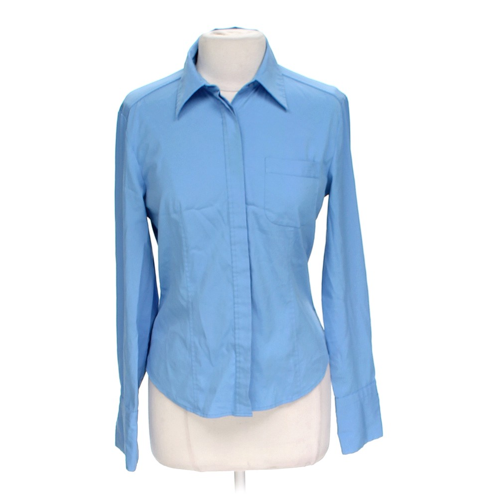 Express classic button up shirt online consignment for Polyester button up shirt
