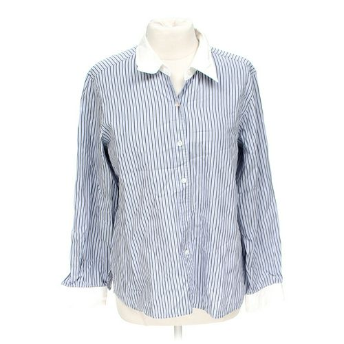Liz Claiborne Classic Button-up Shirt in size 14 at up to 95% Off - Swap.com