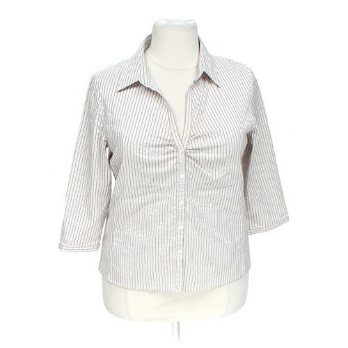 Worthington Classic Button-up Shirt in size 1X at up to 95% Off - Swap.com
