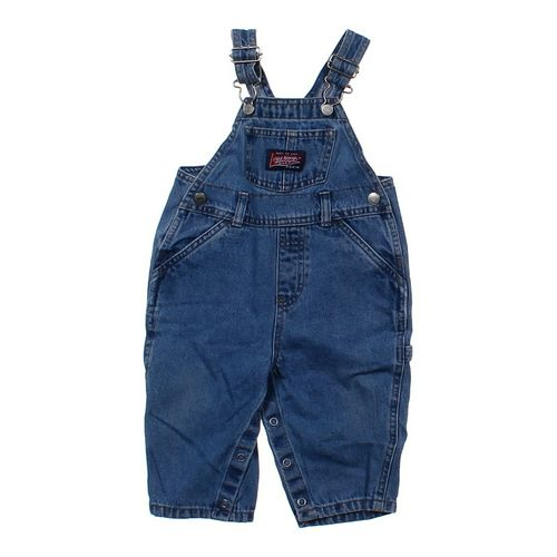 Old Navy Classic Denim Overalls in size 6 mo at up to 95% Off - Swap.com