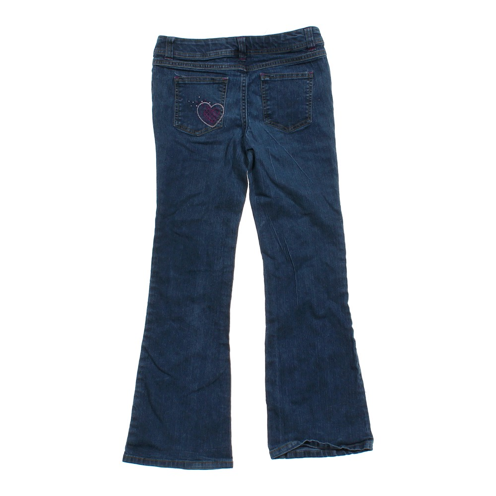 Blue/Navy Faded Glory Classic Jeans in size 12 at up to 95 ...