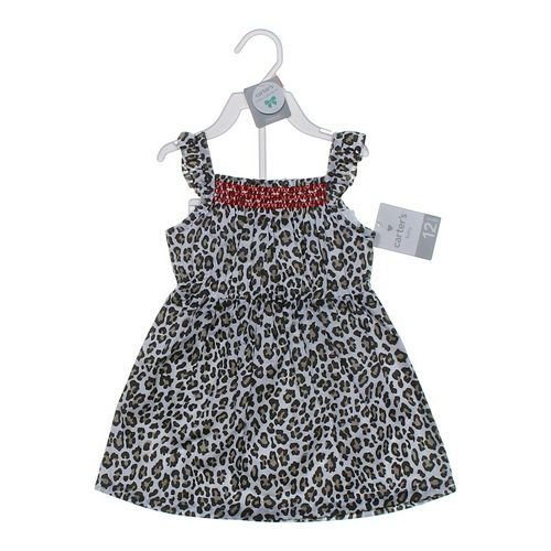 Carter's Classy Animal Print Dress in size 12 mo at up to 95% Off - Swap.com
