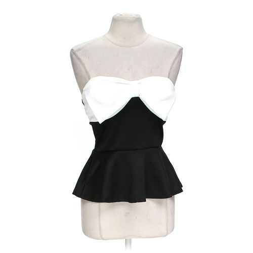 Body Central Classy Peplum Top in size L at up to 95% Off - Swap.com