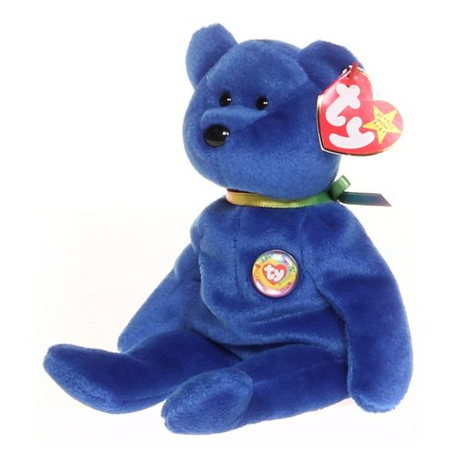 Ty Clubby the Bear Beanie Baby at up to 95% Off - Swap.com
