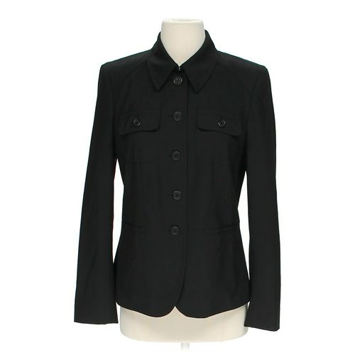 Liz Claiborne Collared Jacket in size 4 at up to 95% Off - Swap.com