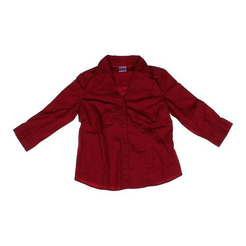 Motherhood Maternity Collared Maternity Shirt in size S (4-6) at up to 95% Off - Swap.com