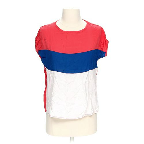 Choclate Color Block Blouse in size S at up to 95% Off - Swap.com