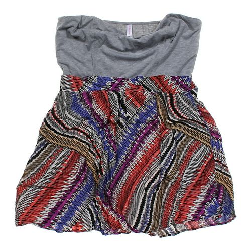 Xhilaration Colorful Dress in size JR 13 at up to 95% Off - Swap.com