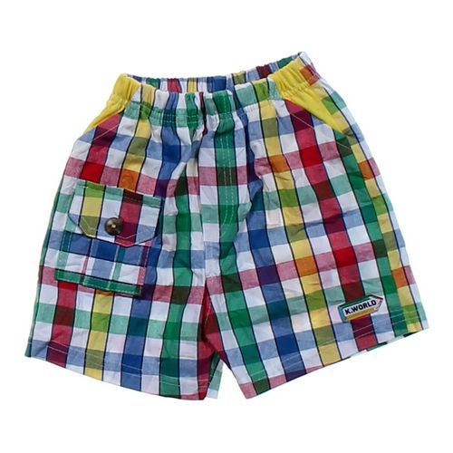 K. World Colorful Shorts in size 9 mo at up to 95% Off - Swap.com