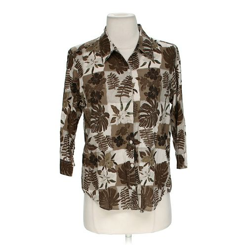 Christopher & Banks Comfy Button-up Shirt in size S at up to 95% Off - Swap.com