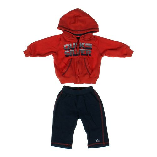 Quiksilver Comfy Logo Outfit in size 6 mo at up to 95% Off - Swap.com